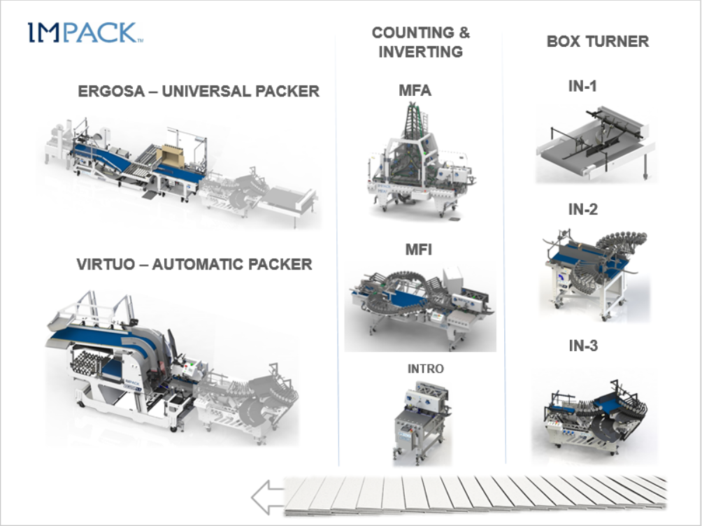 PPCTS - Impack Packaging Packing stations and systems